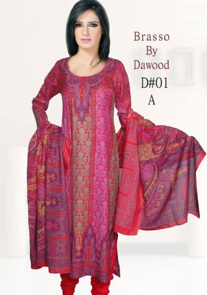 Dawood Winter Lawn 1