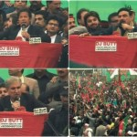 PTI Rally in Peshawer, Imran, Shah Mehmood, Sh Rasheed Address