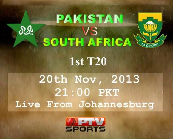 Pak SA T20 Match