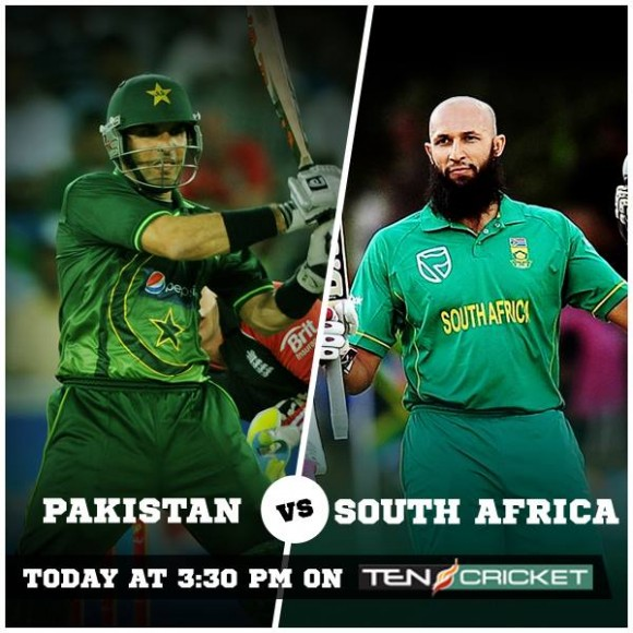 Pakistan South Africa 4th ODI UAE