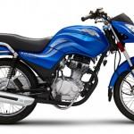 Yamaha 125 Blue
