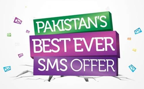 Warid Sms Packages Daily Weekly and Monthly
