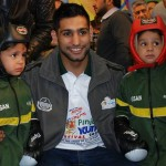 Amir Khan Sports Ambassador of PYF 2014
