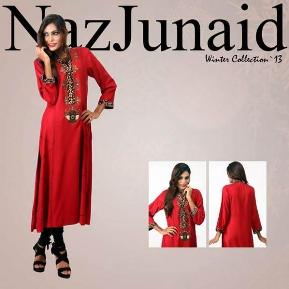 NazJunaid Winter Dress 7