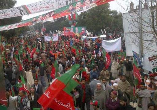 PTI Rally Lahore Dec 22
