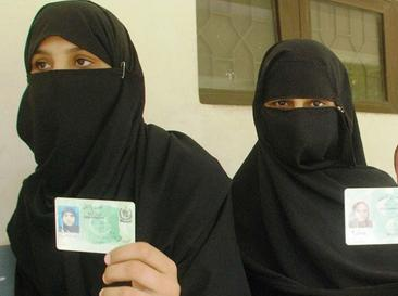 Women Voters in Polling station