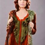 Zunaira Lounge Winter Dress 2