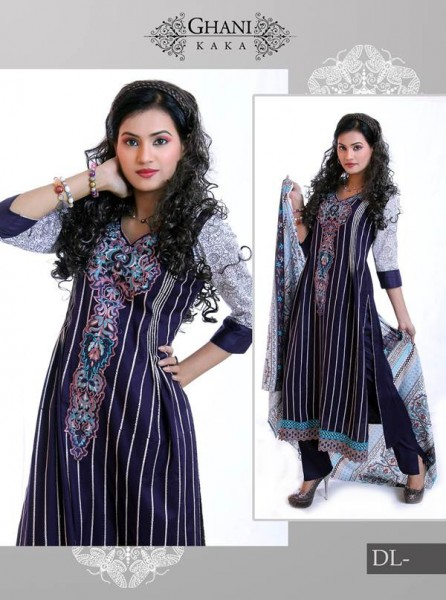 Ghani Textile Winter Dress 3
