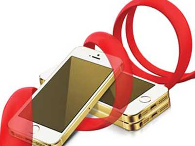 Mobilink iPhone 5S Gold
