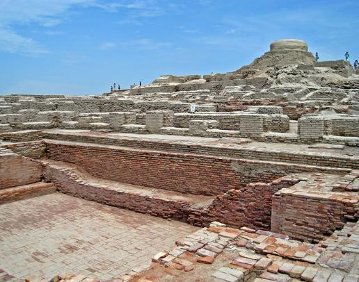 Mohenjo Daro city View