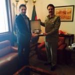 Shahid Afridi Army Award