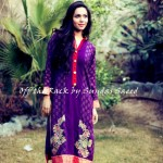 Satrangi Winter Collection 2014 by Sundas Saeed