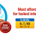 Zong Mobile internet Offer 2014