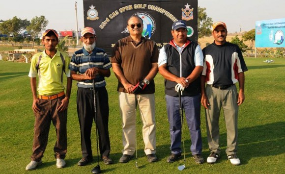CAF Open Golf Championship Players