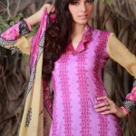 Libas Crinkle Lawn Spring Collection 2014 by Shariq Textiles
