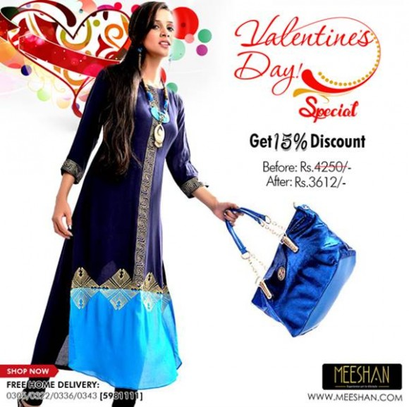 Meeshan Valentine's Day Discount 4