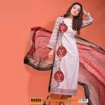 Warda Lawn 2014 Chiffon Dress 3