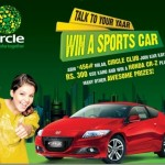 Zong Circle Lucky Draw Offer - Honda CR-Z Car