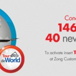 Zong World Tour SIM For Roaming Servicies