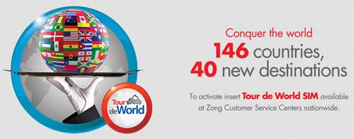 Zong World Tour SIM