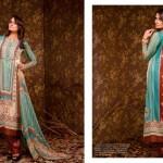 Ajwa Textile 2014 Chiffon Lawn 10