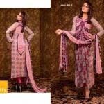 Ajwa Textile 2014 Chiffon Lawn 11