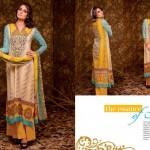 Ajwa Textile 2014 Chiffon Lawn 16