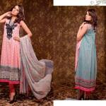 Ajwa Textile 2014 Chiffon Lawn 2