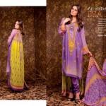 Ajwa Textile 2014 Chiffon Lawn 3