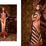 Ajwa Textile 2014 Chiffon Lawn 4