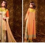 Ajwa Textile 2014 Chiffon Lawn 5