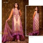 Ajwa Textile 2014 Chiffon Lawn 7