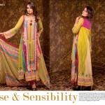 Ajwa Textile 2014 Chiffon Lawn 8