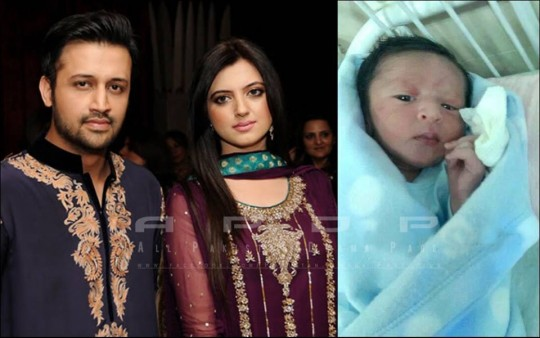 Atif Aslam Baby Child Father