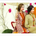 Bonanza Satrangi Lawn S/S Collection 2014 for Women