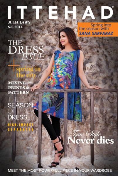 Ittehad Textile 2014 Julia Lawn 1