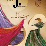 Junaid Jamshed Lawn Collection S/S 2014
