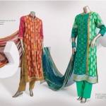 Junaid Jamshed 2014 Lawn Dress 12