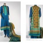 Junaid Jamshed 2014 Lawn Dress 13