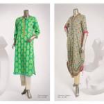 Junaid Jamshed 2014 Lawn Dress 14