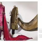 Junaid Jamshed 2014 Lawn Dress 8