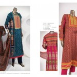 Junaid Jamshed 2014 Lawn Dress 9