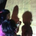 Khadija Tahir give Autograph