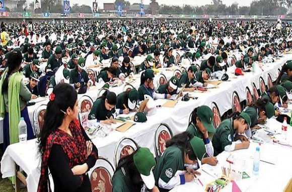 Largest Painting Class World Record in Lahore