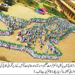 Human Map of Pakistan by Students