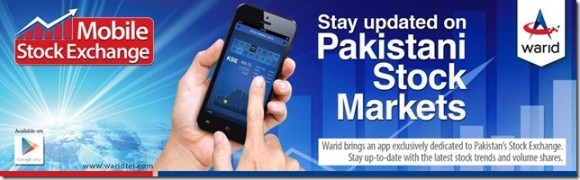 Warid Stock Exchange App