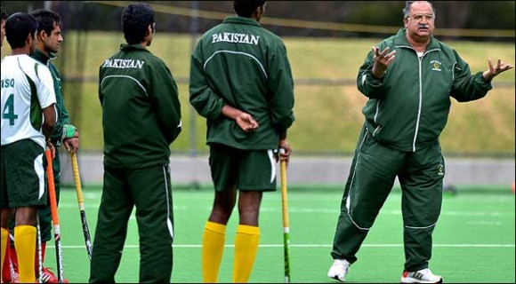 Pakistan Hockey New Coach 2014
