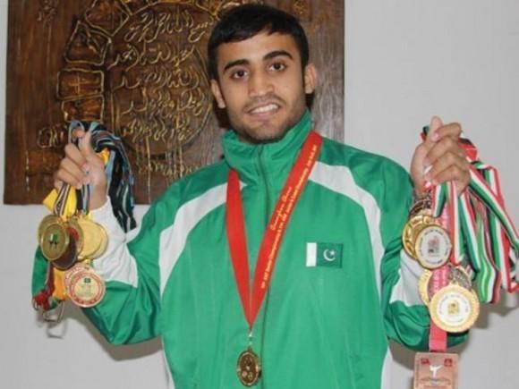 Saadi Abbas Karate Gold Medal