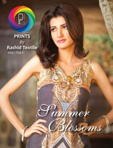 Summer Lawn 2014 Rashid Textiles 1
