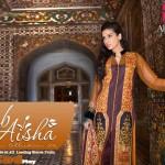 Zeb Aisha 2014 Premium Lawn 12